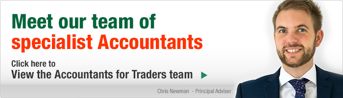 Meet our team of specialist Accountants. Click here to view the Accountants for Traders team